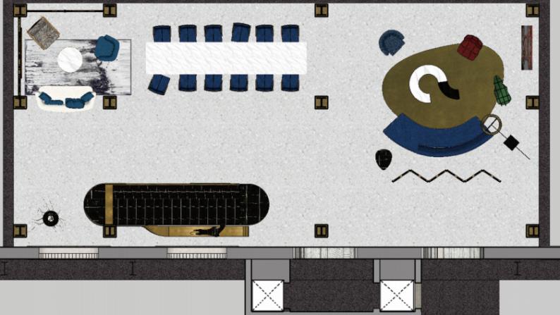 婚礼堂发布:多变空间!摩卡艺术中心(含动线设计、设备清单)  第14张