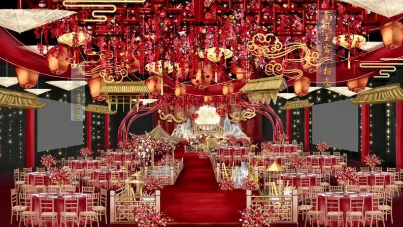 婚礼堂发布:2万平米,4大宴会厅!又一城市新地标诞生  第3张