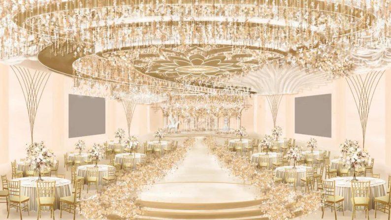 婚礼堂发布:2万平米,4大宴会厅!又一城市新地标诞生  第4张
