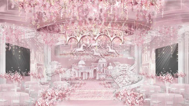 婚礼堂发布:2万平米,4大宴会厅!又一城市新地标诞生  第6张