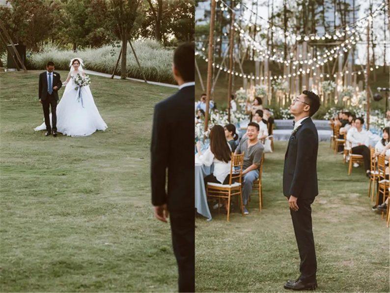 火遍抖音小红书!高逼格还自带艺术气息的超小众婚礼现场  第17张