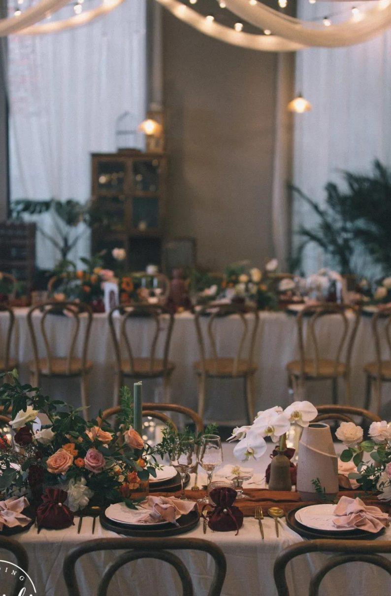 火遍抖音小红书!高逼格还自带艺术气息的超小众婚礼现场  第60张