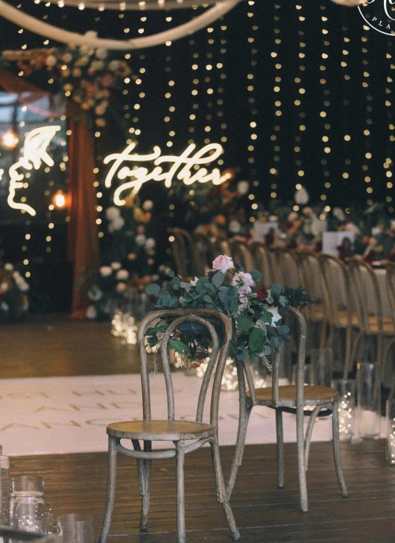 火遍抖音小红书!高逼格还自带艺术气息的超小众婚礼现场  第61张