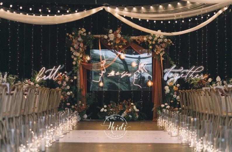 火遍抖音小红书!高逼格还自带艺术气息的超小众婚礼现场  第62张