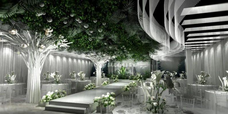 婚礼堂发布:6大主题宴会厅!四线城市主题婚礼酒店  第2张