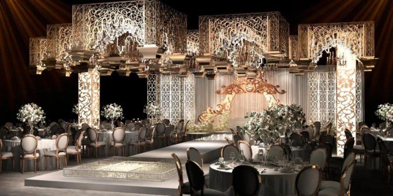 婚礼堂发布:6大主题宴会厅!四线城市主题婚礼酒店  第3张