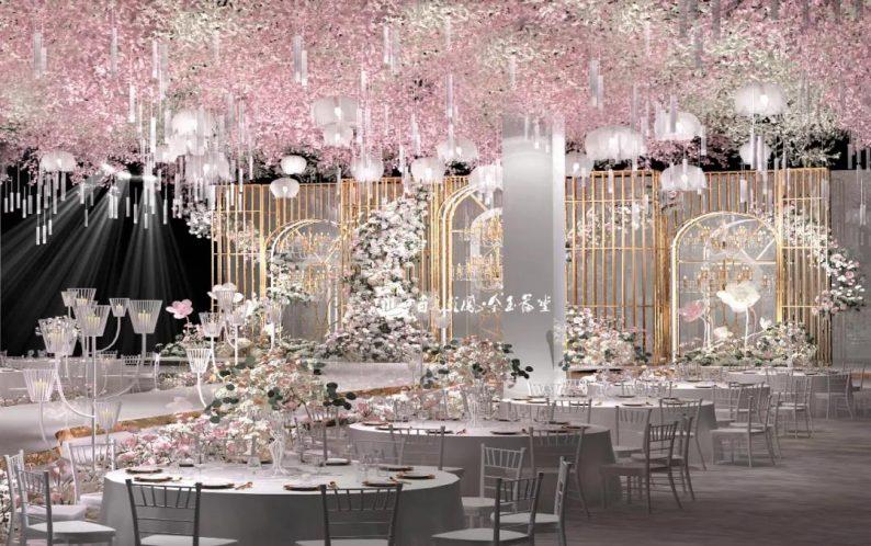 婚礼堂发布:6大主题宴会厅!四线城市主题婚礼酒店  第6张