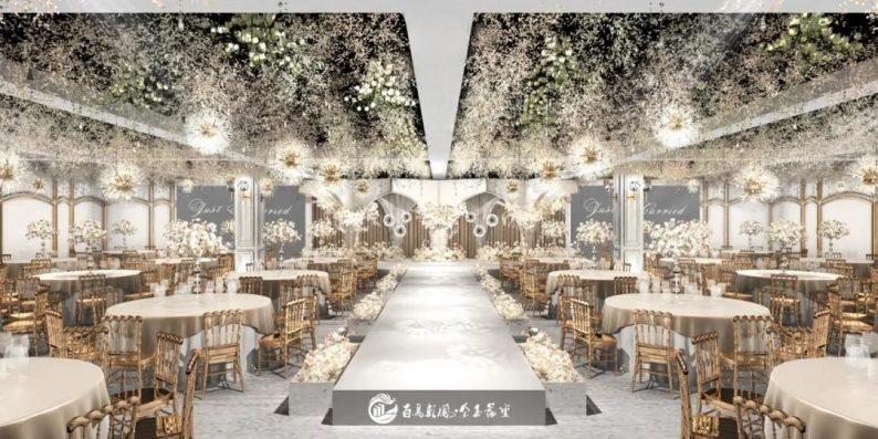 婚礼堂发布:6大主题宴会厅!四线城市主题婚礼酒店  第7张