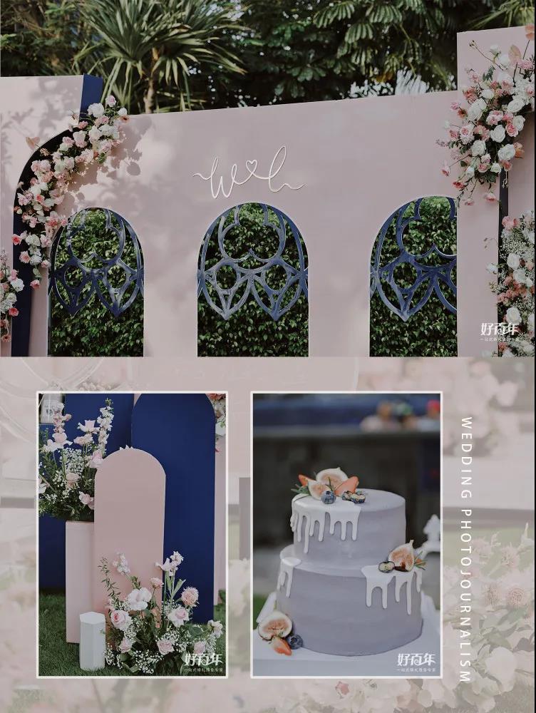 Bauhuas婚礼风格:几何形状+鲜明色彩  第5张
