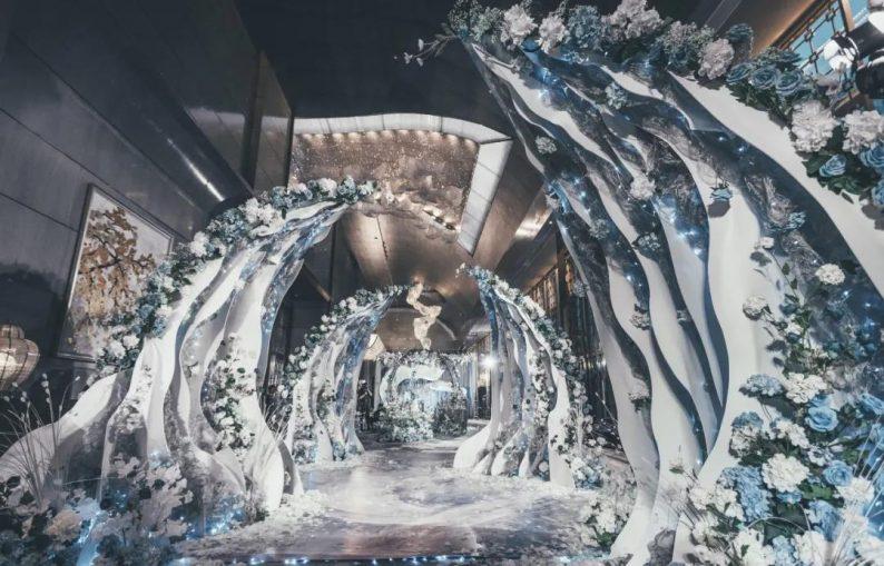 婚礼堂发布:沉浸式浪漫,罗曼里新厅闪耀发布!  第6张