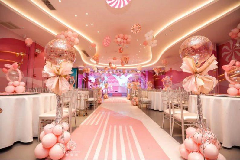 婚礼堂发布:沉浸式浪漫,罗曼里新厅闪耀发布!  第9张