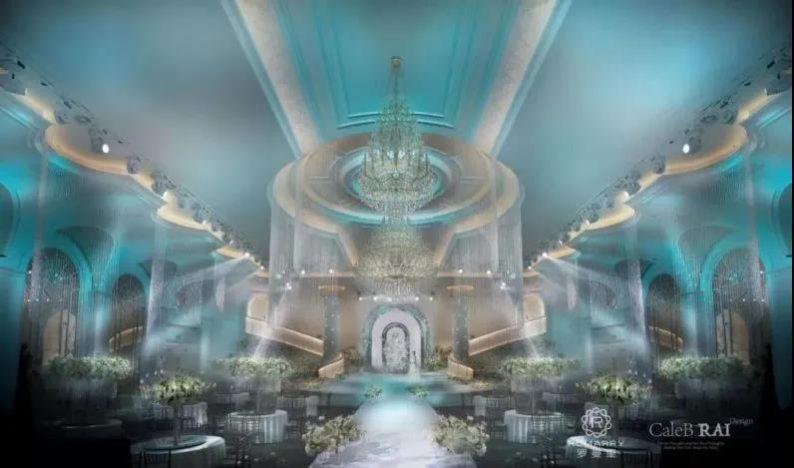 婚礼堂发布:沉浸式浪漫,罗曼里新厅闪耀发布!  第5张