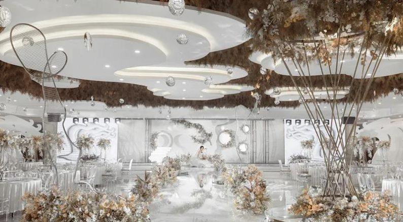 婚礼堂发布:占地2万平!哈市首家园林式巴洛克风格婚礼庄园  第30张