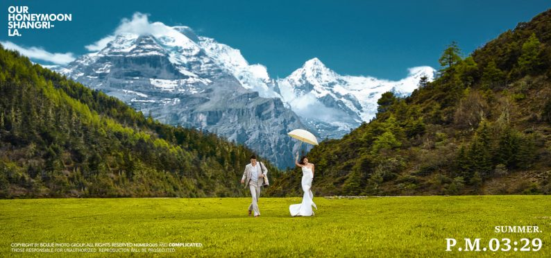 旅拍+婚礼堂的上游流量共创  第1张