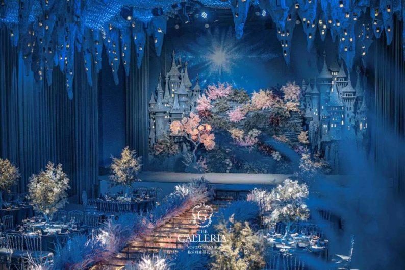婚礼堂发布:年度人气场景!格乐利雅花样主题婚礼艺术厅  第17张