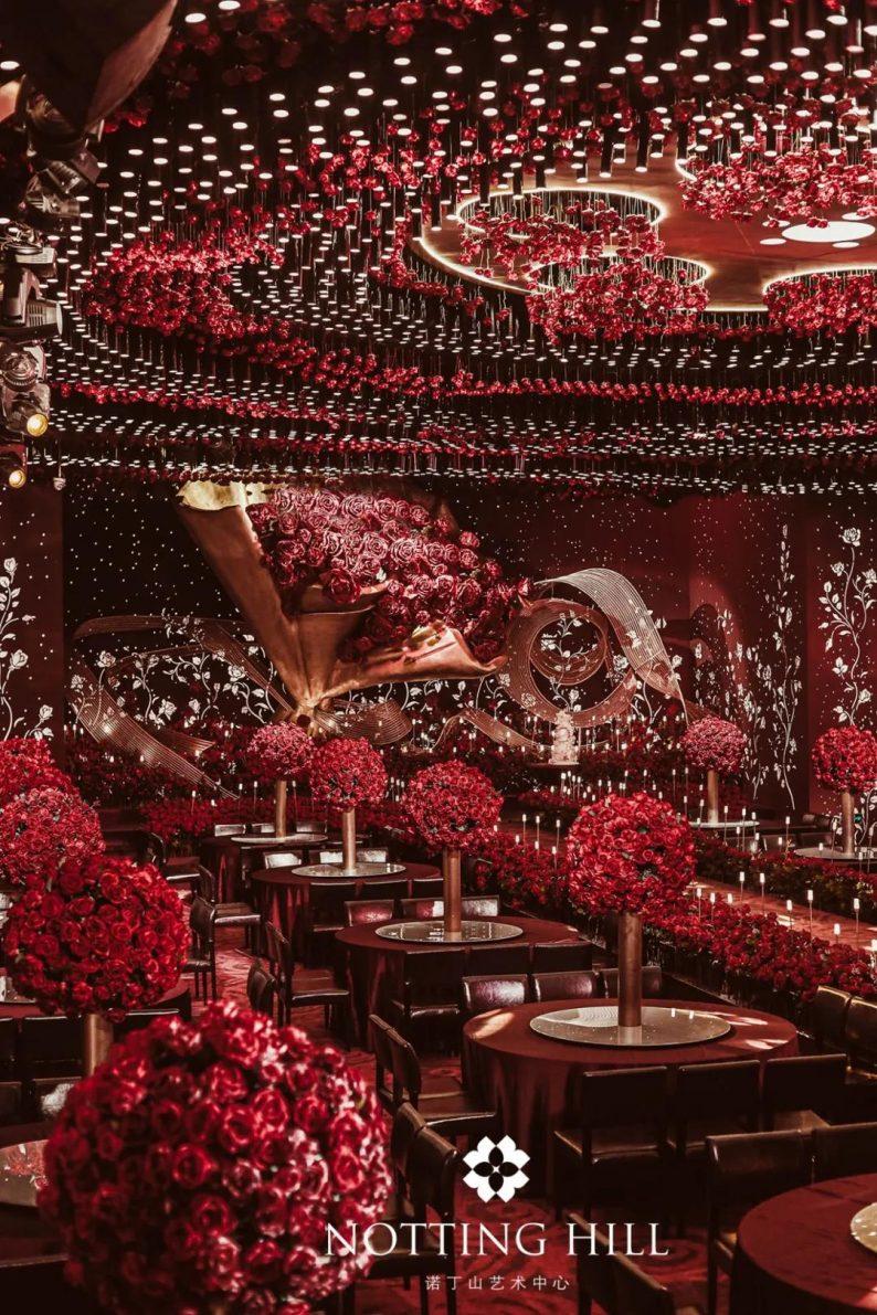 全国6大门店!诺丁山艺术中心近30个百万级宴会厅  第13张