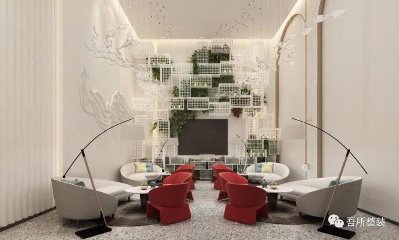 婚礼堂发布:吉盛·恒悦宴会厅销售中心设计解读  第4张