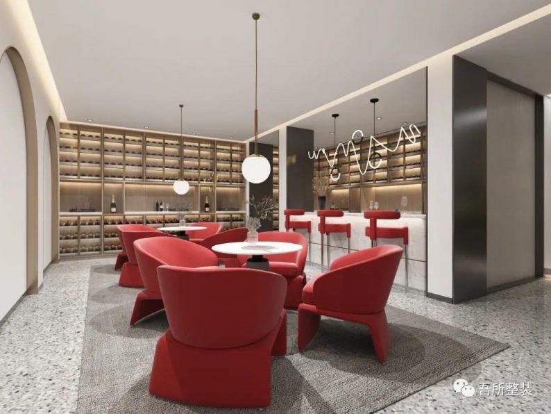 婚礼堂发布:吉盛·恒悦宴会厅销售中心设计解读  第6张