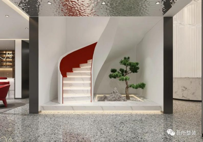 婚礼堂发布:吉盛·恒悦宴会厅销售中心设计解读  第7张