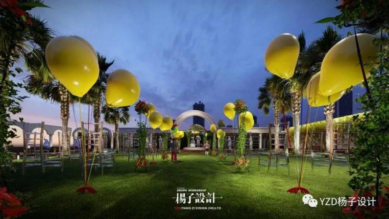 婚礼堂发布:3万方、16个宴会厅!贵州喜玛拉雅宴会艺术中心  第7张