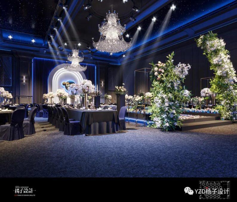 婚礼堂发布:3万方、16个宴会厅!贵州喜玛拉雅宴会艺术中心  第12张