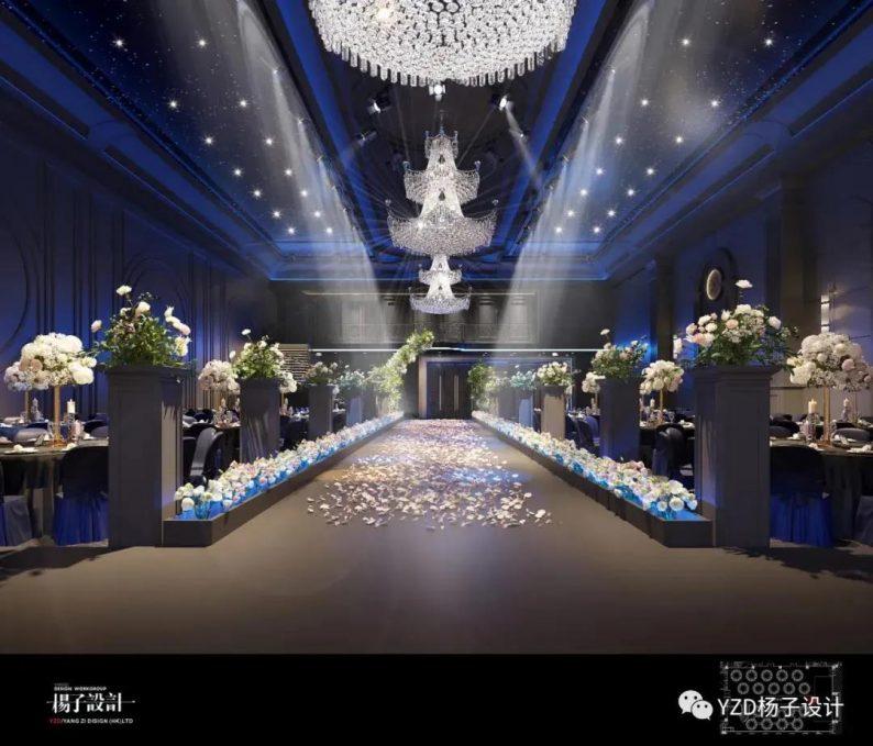 婚礼堂发布:3万方、16个宴会厅!贵州喜玛拉雅宴会艺术中心  第13张