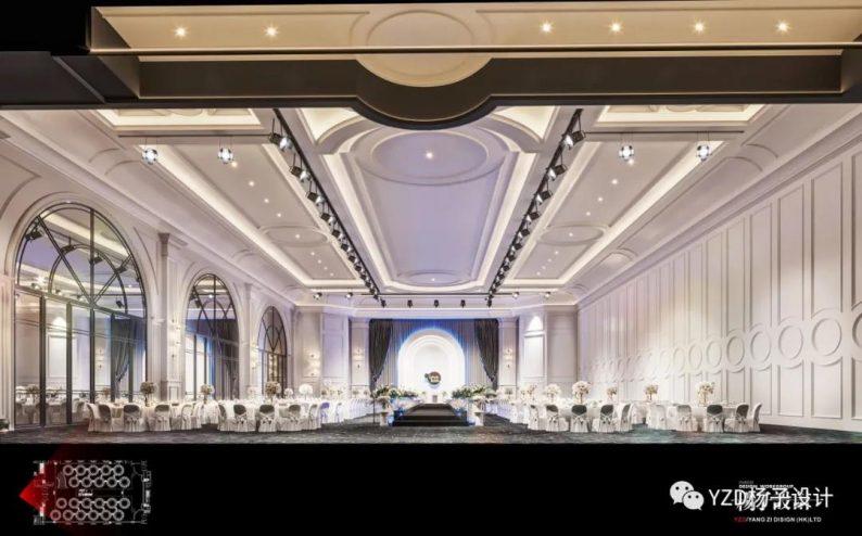 婚礼堂发布:3万方、16个宴会厅!贵州喜玛拉雅宴会艺术中心  第17张