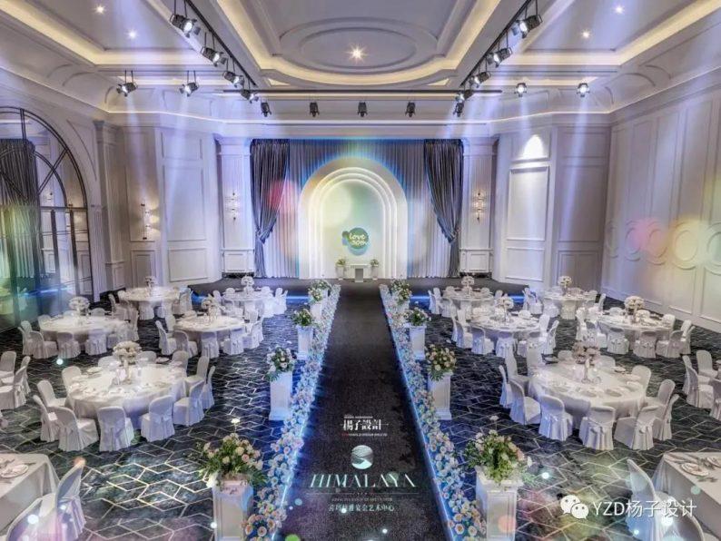 婚礼堂发布:3万方、16个宴会厅!贵州喜玛拉雅宴会艺术中心  第18张