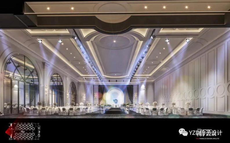 婚礼堂发布:3万方、16个宴会厅!贵州喜玛拉雅宴会艺术中心  第19张