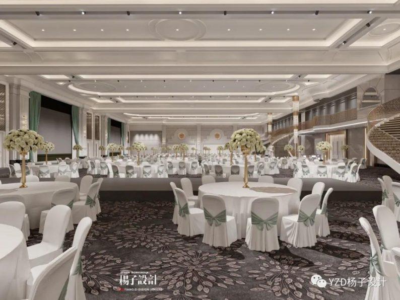 婚礼堂发布:3万方、16个宴会厅!贵州喜玛拉雅宴会艺术中心  第21张