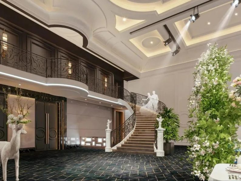 婚礼堂发布:3万方、16个宴会厅!贵州喜玛拉雅宴会艺术中心  第22张