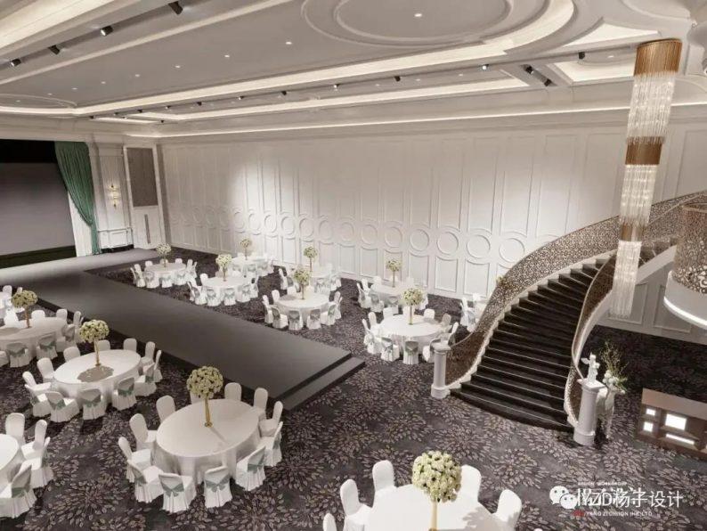婚礼堂发布:3万方、16个宴会厅!贵州喜玛拉雅宴会艺术中心  第23张