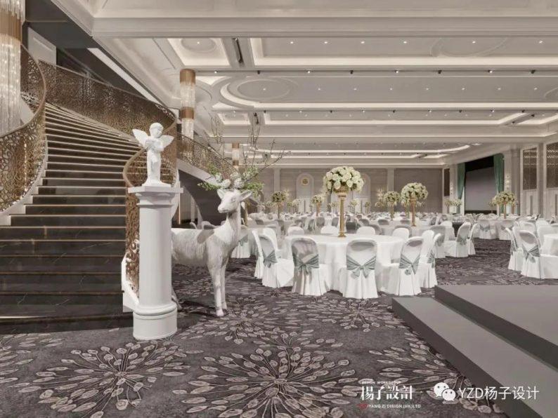 婚礼堂发布:3万方、16个宴会厅!贵州喜玛拉雅宴会艺术中心  第24张