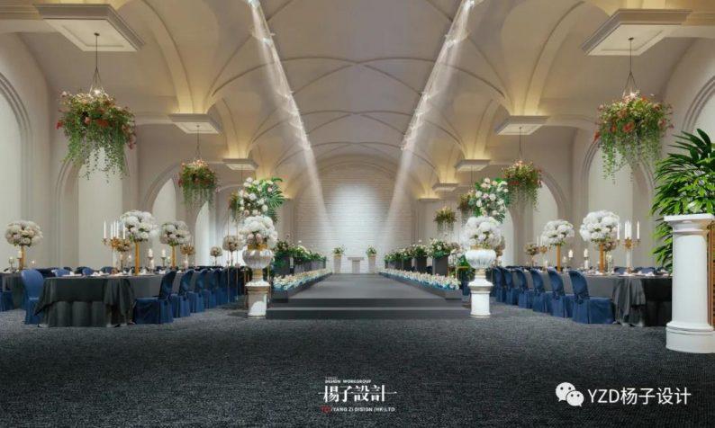 婚礼堂发布:3万方、16个宴会厅!贵州喜玛拉雅宴会艺术中心  第27张