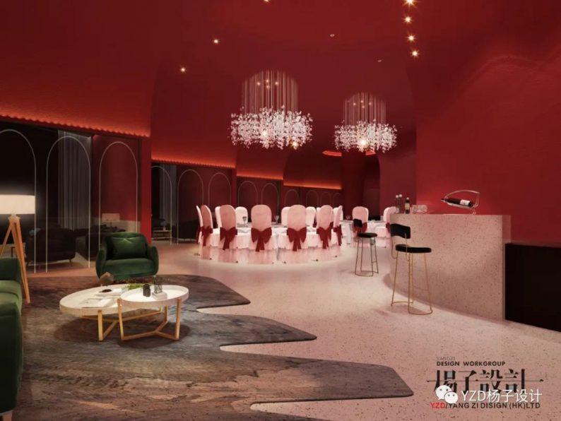 婚礼堂发布:3万方、16个宴会厅!贵州喜玛拉雅宴会艺术中心  第33张