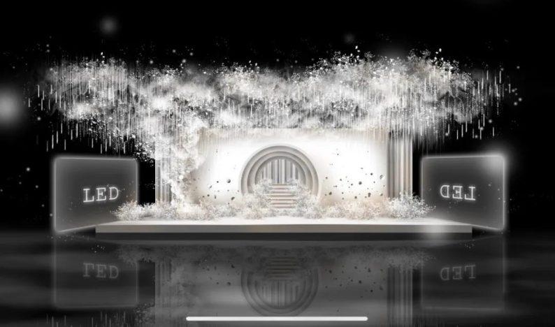 婚礼堂发布:即将开业!延吉珲春首家高端网红婚礼厅  第4张