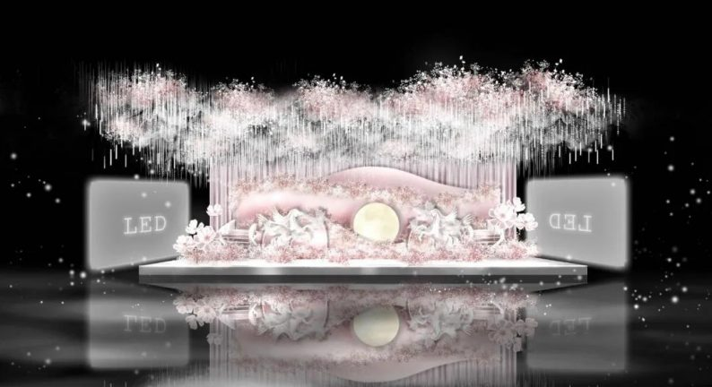 婚礼堂发布:即将开业!延吉珲春首家高端网红婚礼厅  第9张