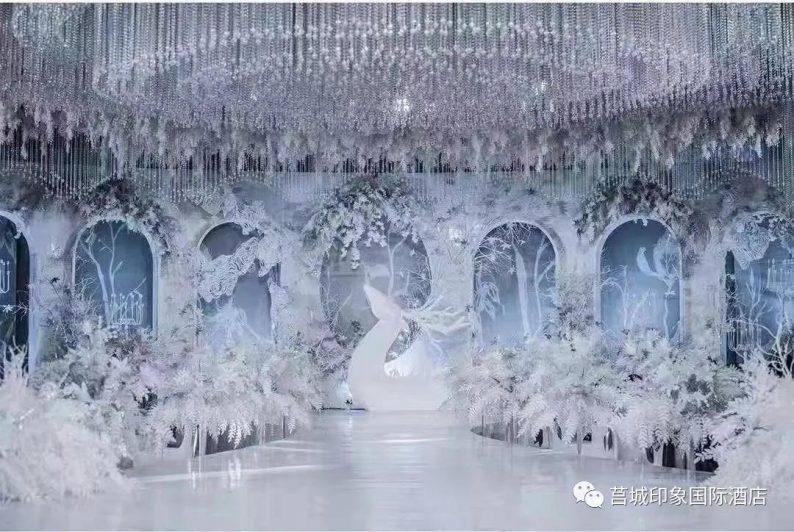 婚礼堂发布:3千平米,5大宴会厅!莒城印象国际酒店重磅打造