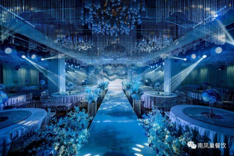 婚礼堂发布:两店同时升级!南凤巢餐饮隆重发布5大宴会厅