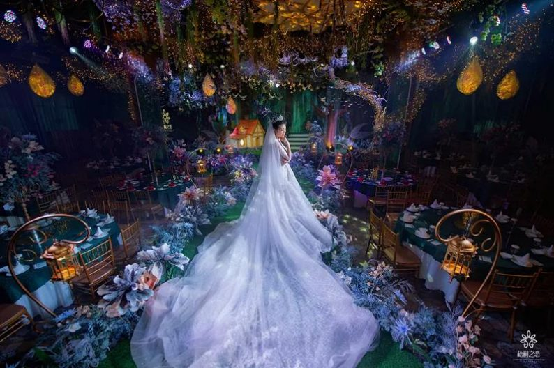 婚礼堂发布:2.3万平,9大宴会厅!大连首家婚礼主题酒店