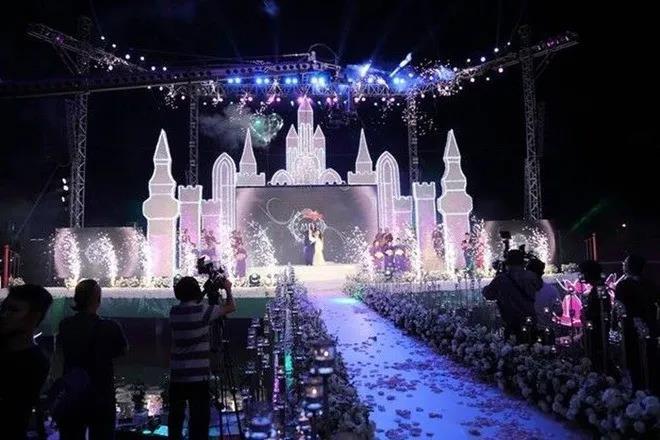 耗资400万元,越南富商为女儿举办婚礼!  第3张