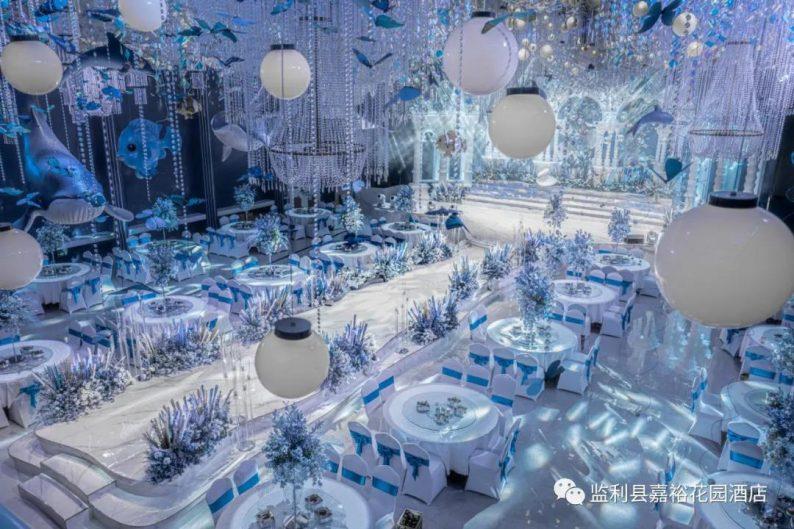 婚礼堂发布:1.5万方!大体量、多风格、高规格的一站式宴会中心  第5张
