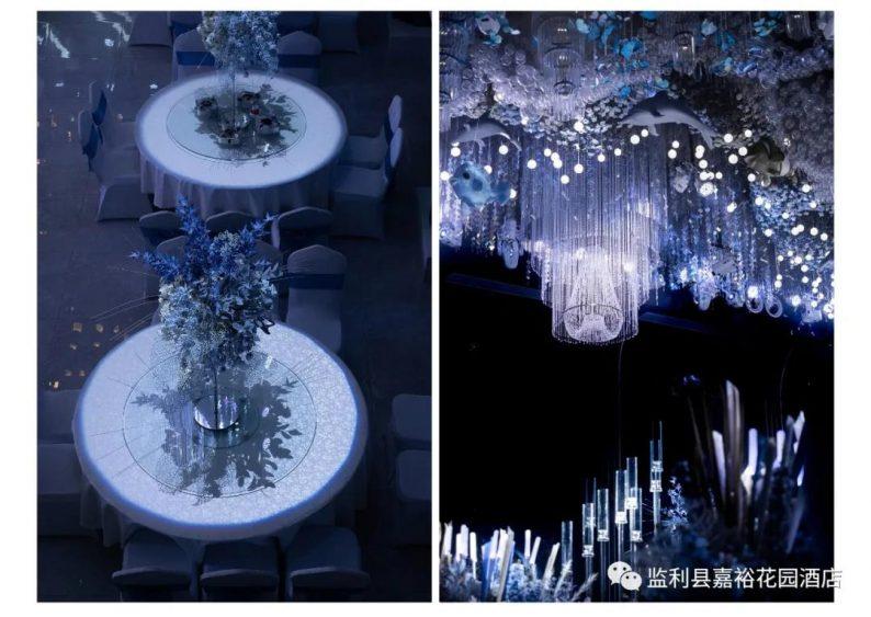 婚礼堂发布:1.5万方!大体量、多风格、高规格的一站式宴会中心  第6张