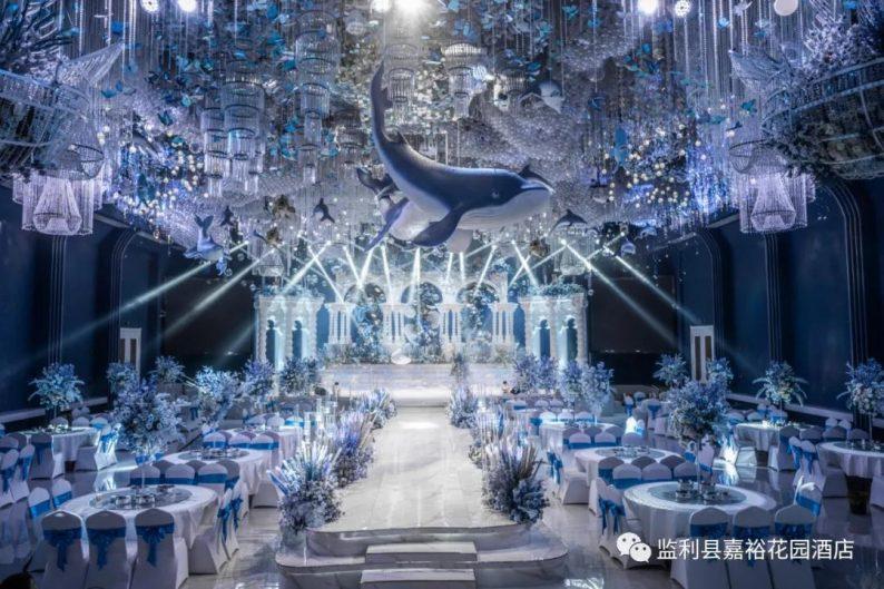 婚礼堂发布:1.5万方!大体量、多风格、高规格的一站式宴会中心  第7张