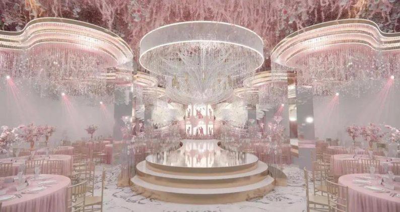 婚礼堂发布:聚千万资本、打造生活秀场!五线城市婚礼堂连锁产业
