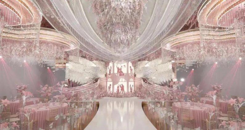 婚礼堂发布:聚千万资本、打造生活秀场!五线城市婚礼堂连锁产业  第2张