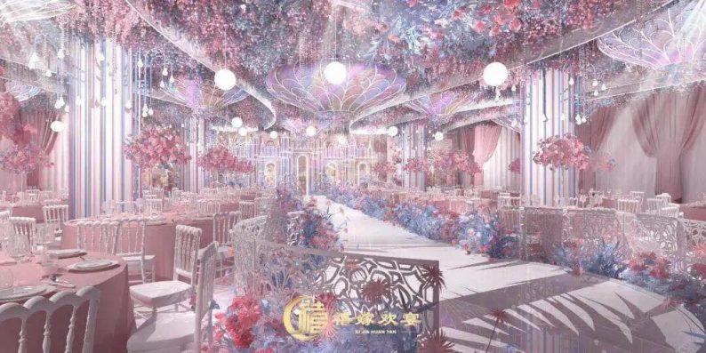 婚礼堂发布:百界倾力打造!占地8000平,七大主题宴会厅  第1张