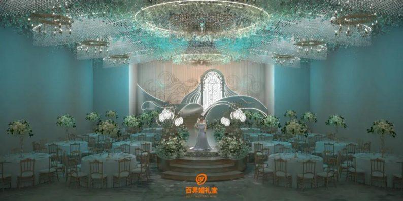 婚礼堂发布:百界倾力打造!占地8000平,七大主题宴会厅  第3张