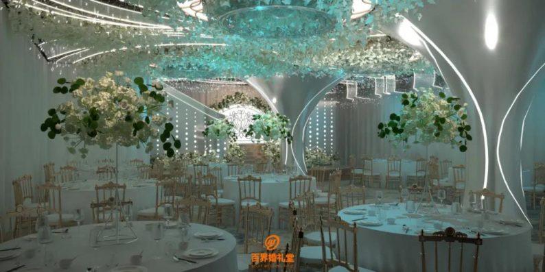 婚礼堂发布:百界倾力打造!占地8000平,七大主题宴会厅  第4张