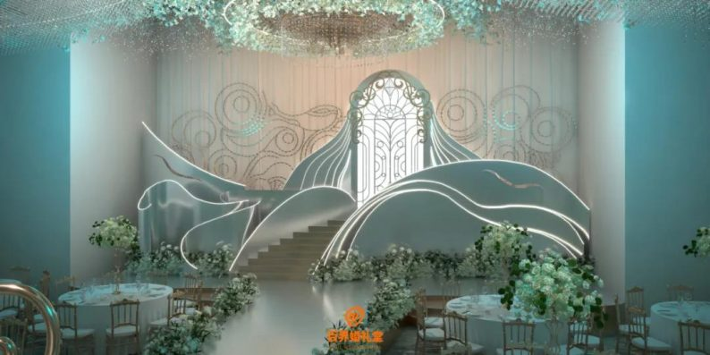 婚礼堂发布:百界倾力打造!占地8000平,七大主题宴会厅  第6张